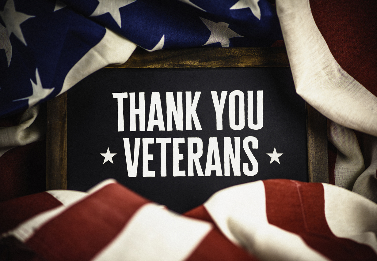Thank you military veterans on Labor Day.